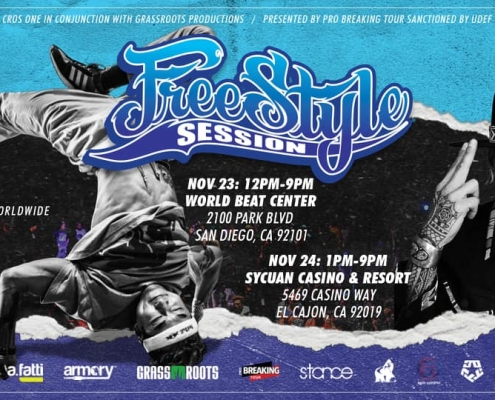 Freestyle Session 2019 Main Flyer